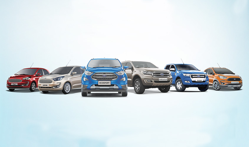 Ford cars in Nepal