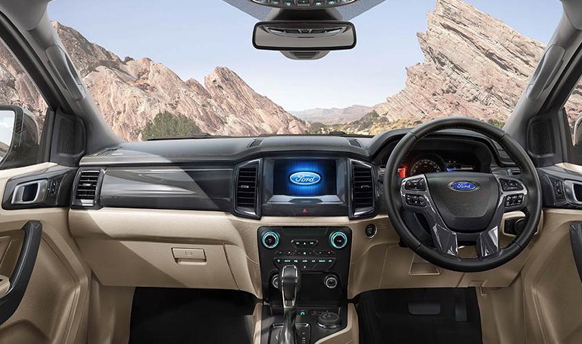 2020 ford endeavour interior