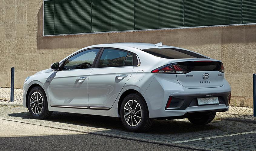 Hyundai IONIQ electric car